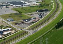 Wielerronde Ronde van Zeeland Seaports. Passage Denemarkenweg.