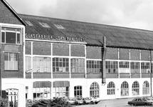 Vestiging van de glasfabriek in Sas van Gent.