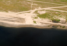 Luchtfoto van de werkzaamheden uitbreiding Scaldiahaven, 2e fase,...