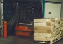 Transport van goederen in het kader van Port Handbook Vlissingen.