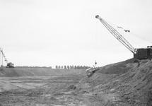 Werkzaamheden aan de vloeivelden van de Suiker Unie te Sas van Gent -...