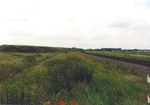 Spoorlijn (stamlijn) op de Axelse Vlakte.