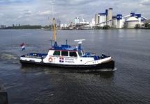 Peilvlet HT 1 van Zeeland Seaports in de haven van Gent