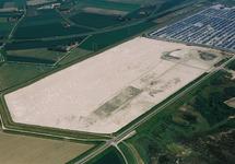 Luchtfoto bouwrijp maken 2e fase terminal Cobelfret aan de...