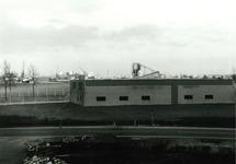 Magazijn / werkplaats van het Havenschap Terneuzen aan de Noorwegenweg...