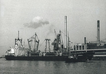 Kade Hydro Agri Sluiskil jaren tachtig