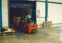 Transport van goederen in het kader van Port Hanbook Vlissingen.