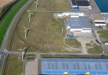 Windmolens langs Europaweg-Noord