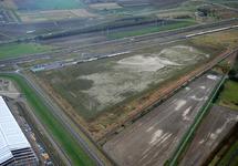 Terreinen aan de Luxemburgweg in Vlissingen-Oost. Links is nog net een...