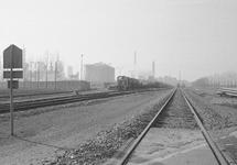 Spoorlijnen bij de Nederlandse Stikstof Maatschappij (NSM).