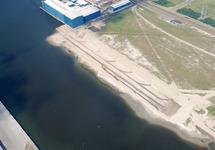 Overzichtfoto van de werkzaamheden uitbreiding Scaldiahaven, 2e fase,...
