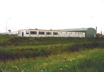 Nieuwe huisvesting Van Mourik aan de Liechtensteinweg.