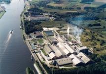 Luchtfoto Zuid-Chemie te Sas van Gent.