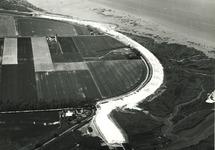 Luchtfoto aanleg Braakmanhaven en inpoldering Mosselbanken