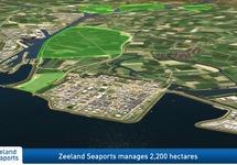 Artist Impressie Zeeland Seaports 2016