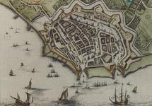 Vestingtekening van de stad Vlissingen. Foto gemaakt ten behoeve van...