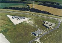 Luchtfoto van het gebied rond de Groenlandweg te Vlissingen-Oost.