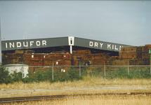 Vestiging van Indufor Dry Kilns in het havengebied Vlissingen-Oost.