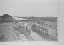 Reproductie van een foto van omstreeks 1907 van de...