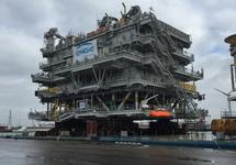 Offshore platform voor Engie in de Bijleveldhaven