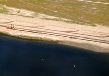 Luchtfoto van de werkzaamheden van de uitbreiding Scaldiahaven, 2e...