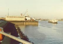 N.V. Haven van Vlissingen aan de Buitenhaven.