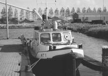 Peilboot H.T. in de Zuiderkanaalhaven.