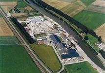 Luchtfoto Axelse Sassing en zijkanaal C.