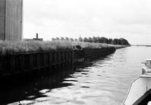 Schadevaring in de damwand langs het kanaal Gent-Terneuzen ter hoogte...