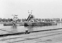 Baggerwerkzaamheden ter hoogte van de ro-ro 1 haven aan de...