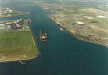 Luchtfoto van de Quarleshaven te Vlissingen-Oost.