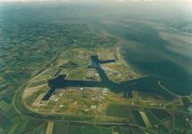 Luchtfoto van het havengebied Vlissingen-Oost.