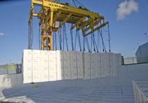 Lossen papier bij Verbrugge Terminals