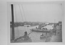 Reproductie van een foto van ca. 1907 van de...