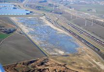 Braakliggende terreinen van Flushing Service Park aan de...