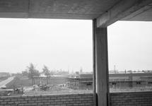 Foto vanuit het in aanbouw zijnde kantoor van het Havenschap Terneuzen...