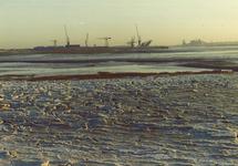IJsschotsen Westhavendam.