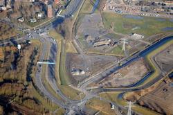 Aansluiting Veerhavenweg en Westerhavenweg bij de Buitenhaven in...