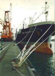 Zeeschip Sea Explorer aan de Sloekade bij de N.V. Haven van...