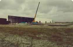 Vriesveem Kloosterboer in aanbouw.