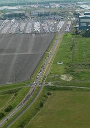 Wielerronde Ronde van Zeeland Seaports. Ritthemsestraat.