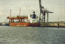Zeeschip aan de Sloekade.