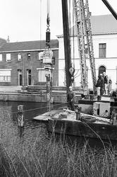 Vernieuwen van een kademuur aan Zijkanaal H, Oostkade te Sas van Gent.