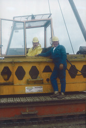 Slaan eerste paal Outokumpu Steel Processing op de Axelse Vlakte,...