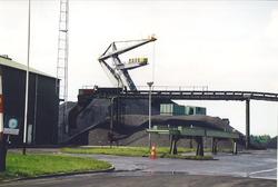Terminal van overslagbedrijf Ovet aan de Massagoedhaven. Foto gemaakt...