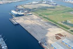 Verbrugge scaldia terminal in de Scaldiahaven met de locatie voor...