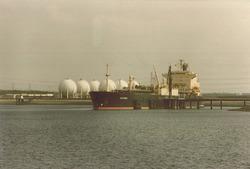 Aanlegsteigers Eurogas Terminals C.V. (september 1980) in de...