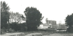 Sas van Gent, richting Zijkanaal E.