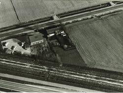 Serie boerderijen havengebied Vlissingen-Oost  Hertenweg, Nieuwdorp...