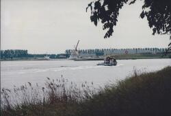 Kanaal Gent-Terneuzen ter hoogte van Outokumpu Steel Processing...
